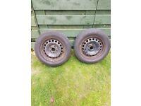 VW Golf Steel Wheels & Tyres 195/65/15
