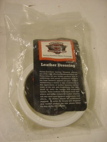 GENUINE HARLEY DAVIDSON LEATHER DRESSING 2.5OZ