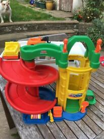 Fisher-Price Little People Toy Garage