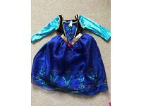 Frozen Anna dress and cape age 5-6yrs
