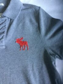 Abercrombie and Fitch muscle polo shirt, great condition little worn , smoke free home