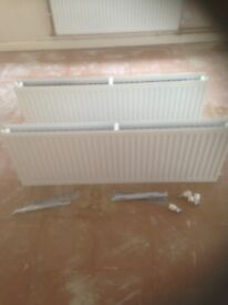 Central Heating Radiators x2