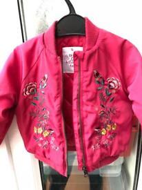 Baby girl jacket coat (12-18 months)