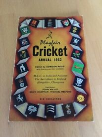 Playfair cricket annual 1962