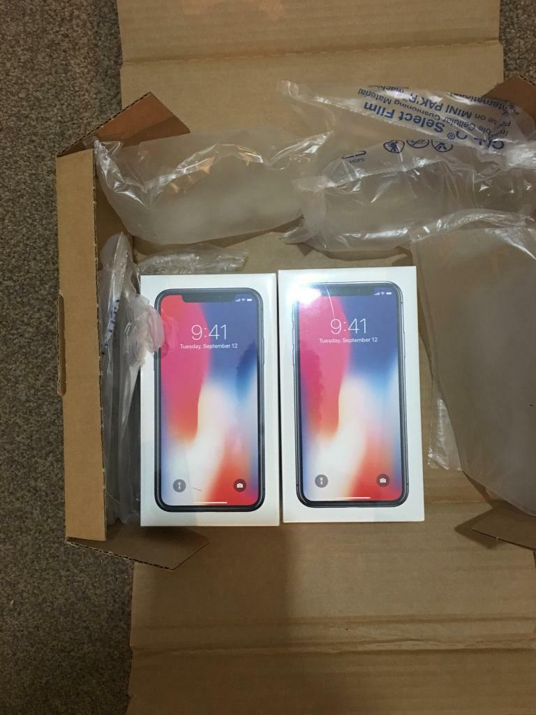 iPhone X 256GB Space Grey Unlocked- last one left