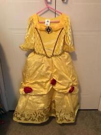 Belle Beauty and the beast costume for Age 5-6