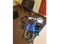 MX MOTOCROSS / BODY KIT / HELMET / JERSEY / PANTS / SOCKS / ARMOUR / GOGGLE / BAG / TOOL PACK