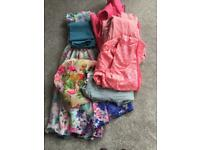 Girls bundle age 5-6 & 6-7 (7 items) - £5