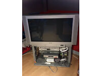 "36"" Sony widescreen tv with stand"