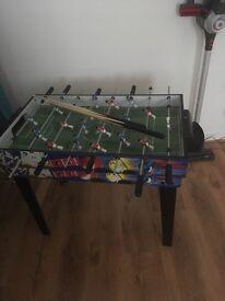 Multi sports table