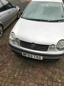 Vw polo and seat Ibiza sport spares or repairs