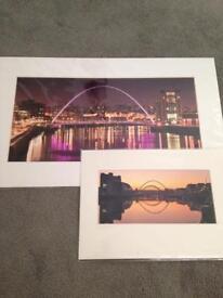 New Newcastle Tyne Bridge photographic prints