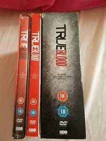 True blood DVD set. season 1-6