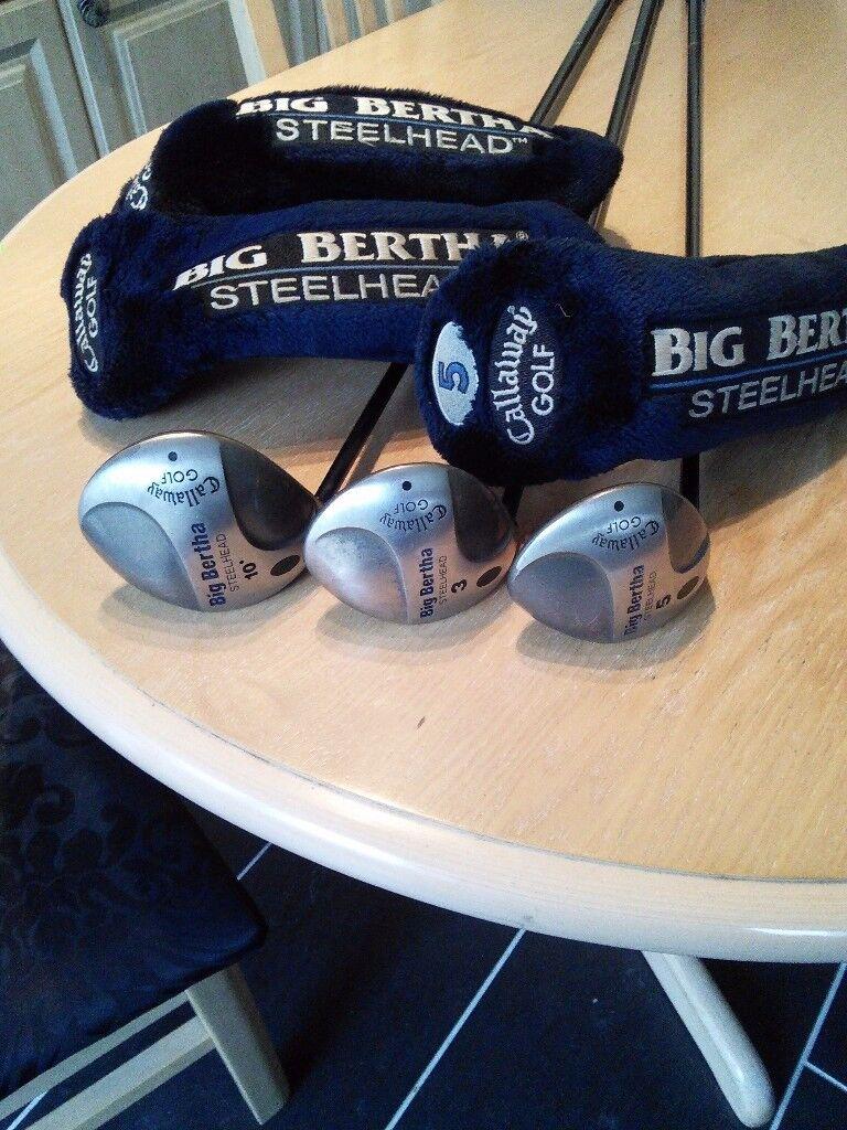Callaway Big Bertha Woods Left Handed £15