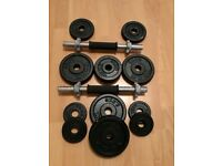 York Cast Iron Dumbbell 20 Kg