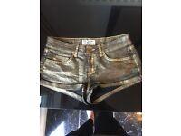 Joblot of shorts/ hot pants size 6-8