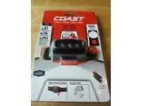 Coast FL14 Dual Colour LED Head Torch bundle x 4