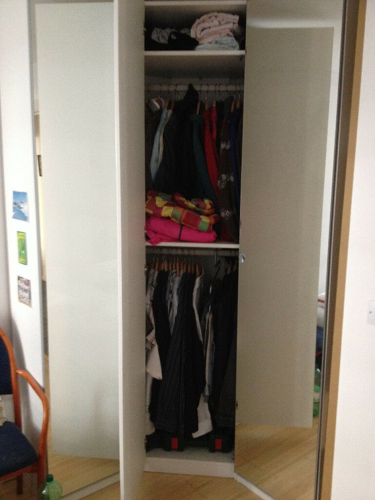 Corner Wardrobe (£30)