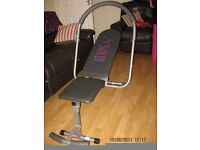 AB KING PRO EXERCISE BENCH