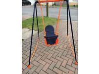 Baby toddler folding Swing