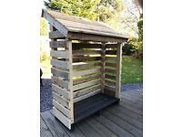 LOG STORE MADE FROM RECYCLED WOOD £60