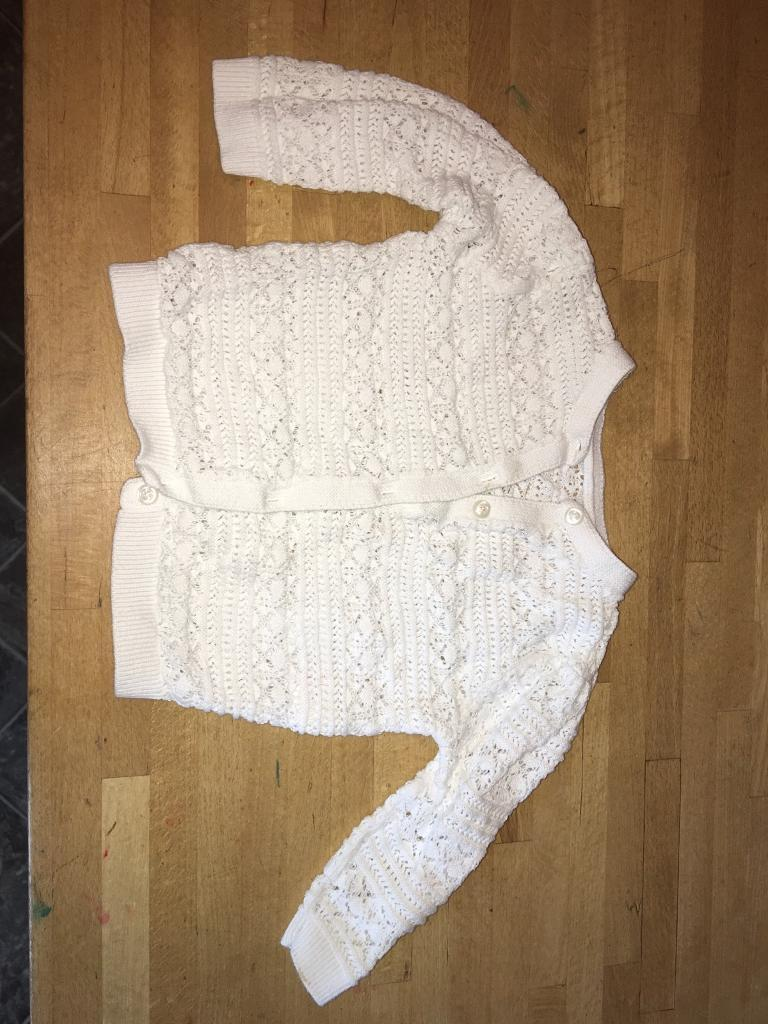 Baby girls cardigan 6-9 Months