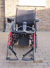 Quickie Rumba Folding Electric Wheelchair For Sale