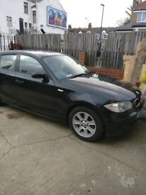 BMW 1 SERIES BLACK