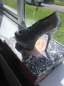 All size 5 women's heels!