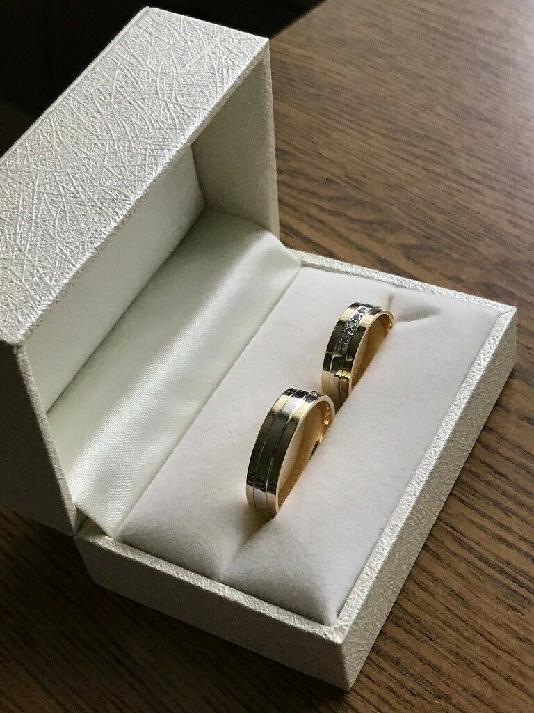 Wedding rings - brand new, unused, high quality 14ct gold
