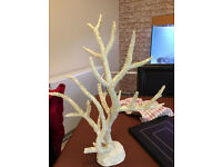 Coral tree fish tank ornament