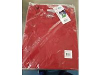 Red xl chef jacket brand new
