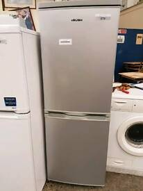 Bush silver fridge freezer