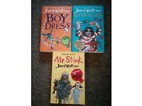3 David Walliams books