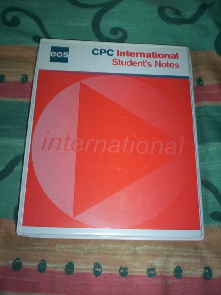 Cpc Certificate Of Professional Competence For Transport Managers