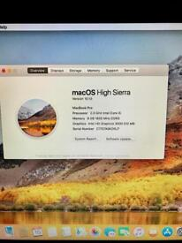 MacBook Pro with disk drive