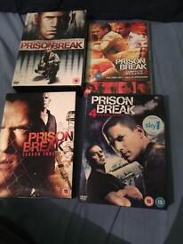 DVD bundle prison break 1-4 NEED GONE