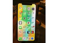 iPhone X 256gb white 1 month old