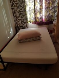 Wall Bed with Double Memory Foam