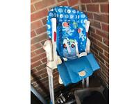 Chicco 2-1 high chair