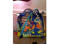 Baby play mat, only used a handful of times. Balls included