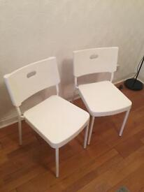 Two chairs for quick sale