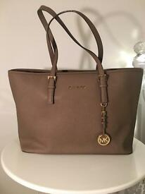 Michael Kors Taupe Handbag