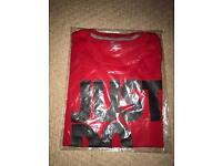 Nike Red & Black Just Do It T-Shirt Brand New Genuine