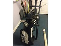 COMPLETE GOLF SET - CALLAWAY IRONS, NIKE DRIVER + MUCH MORE!!