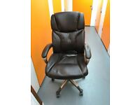 2 x High Backed almost new Office Chairs (can be sold separately) - in almost perfect condition