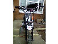 Pitbike 110cc semi auto