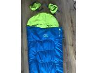 Highland sleep bag with bag built in pillow