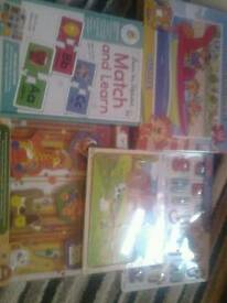 Brand new sealed educational puzzles ect