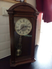 Clearance ~ Lovely London Clock Company Wooden Westminster Pendulum clock